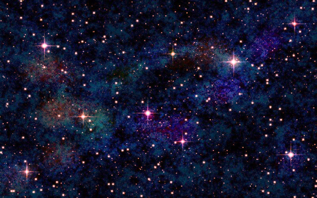 宇宙空間と星